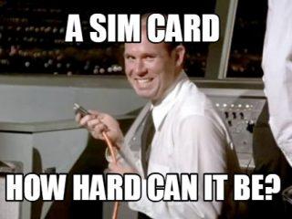 SIM card Mobilise