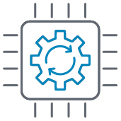 CRM system icon
