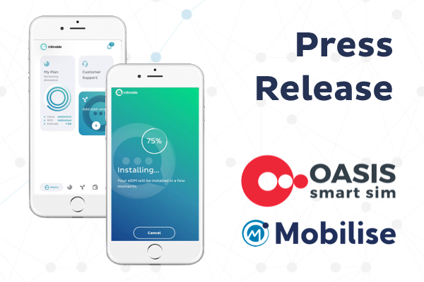 Press Release Mobilise and Oasis two screens with M-Connect app